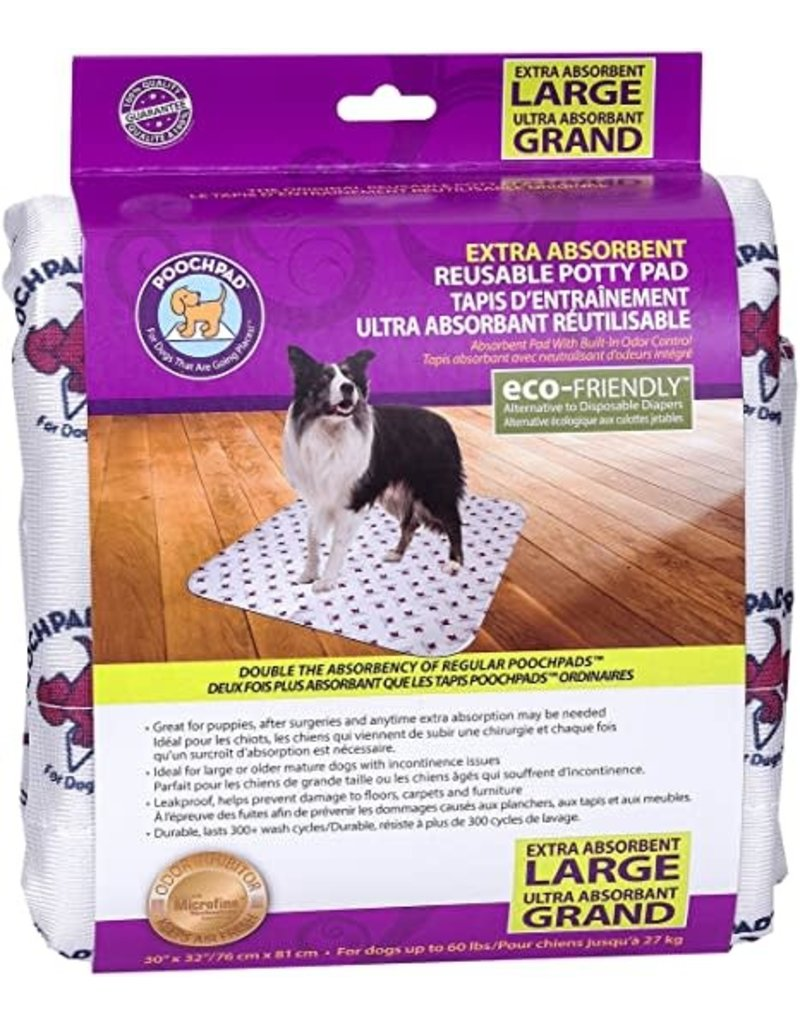 Poochpad Pooch pad tapis d'entrainement blanc grand