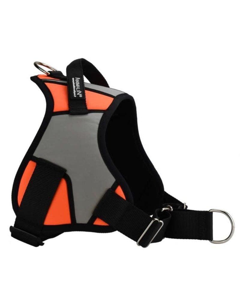 Animalin Animalin harnais reflex plus orange moyen //