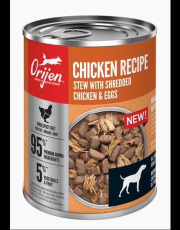 Champion Petfoods Orijen recette au poulet ragoût  363g (12) //