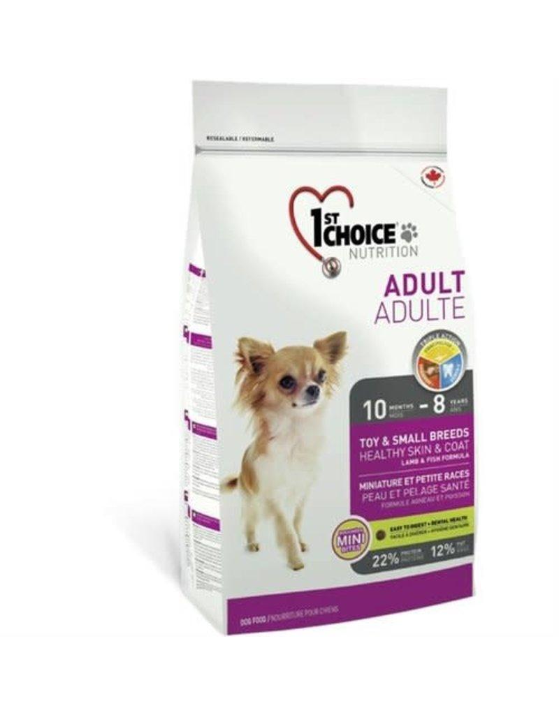 1st choice 1st choice chien miniature et petite races peau et pelage santé adulte
