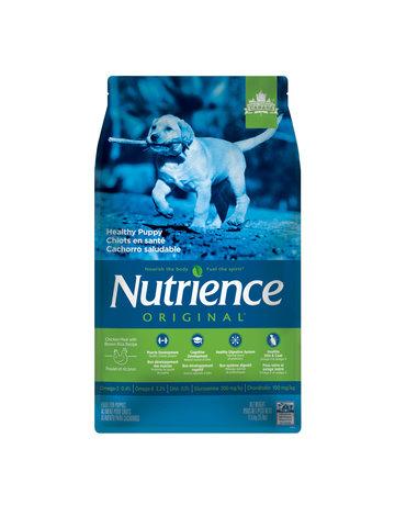 Nutrience Nutrience original pour chiots en santé, poulet et riz brun, 11,5 kg -