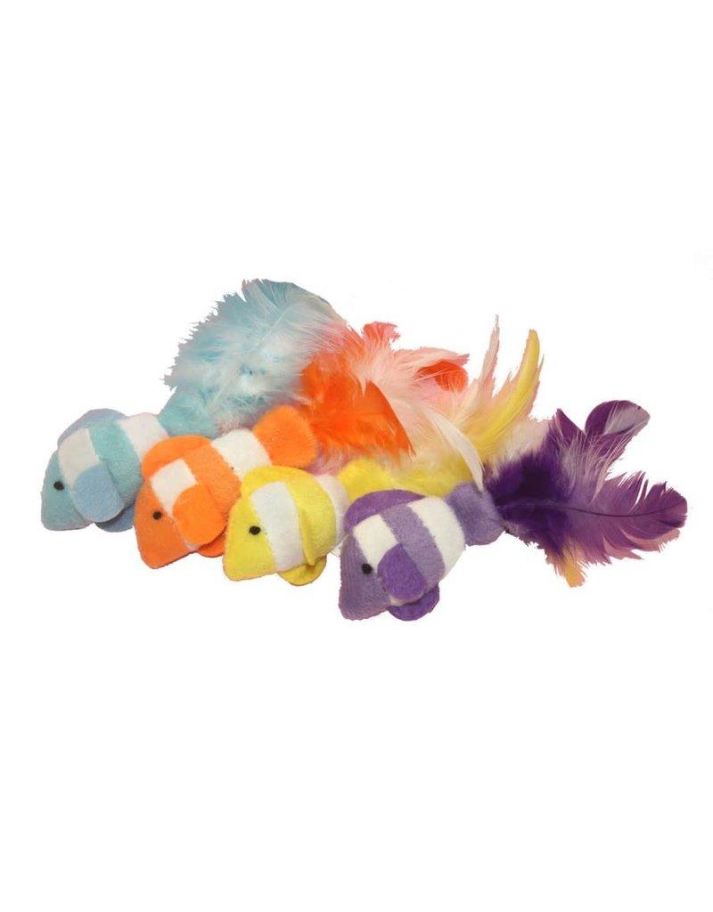 Multipet Multipet poisson clown avec plumes unitaire (2) //*