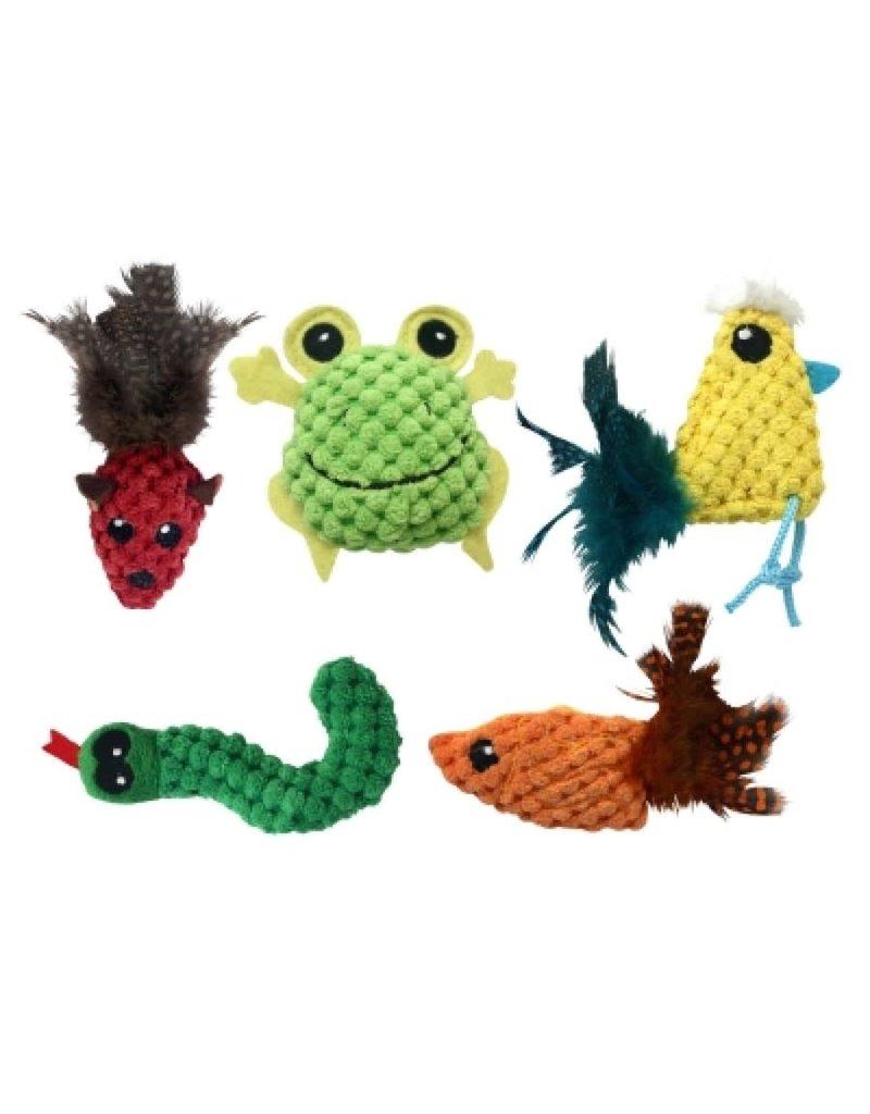 Multipet Multipet knobby knits 4''  unitaire (3) //*