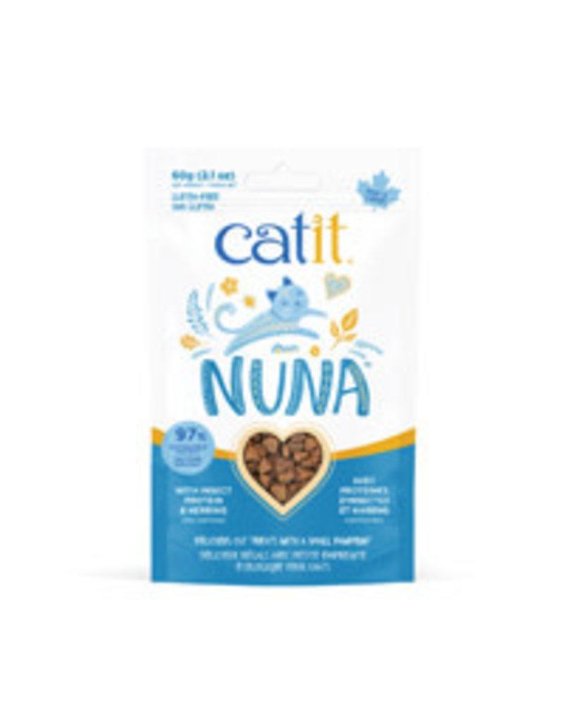 Catit Catit nuna protéines d'insectes et hareng 60g //