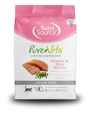 Purebites Purvita chat saumon et pois vert 6.8 kg -*