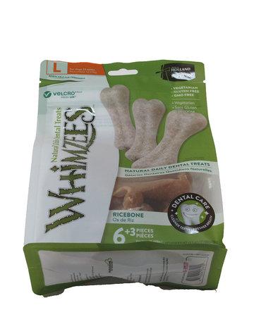Whimzee Whimzees sac 9 unités brosse à dents large -