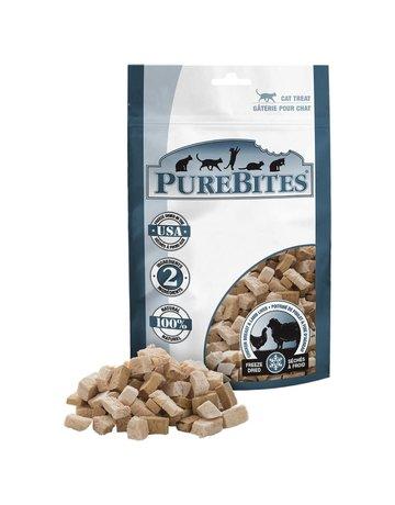 Purebites Purebites chat poulet et agneau 28g
