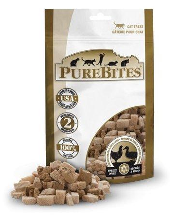 Purebites Purebites pour chat poulet et canard 32g