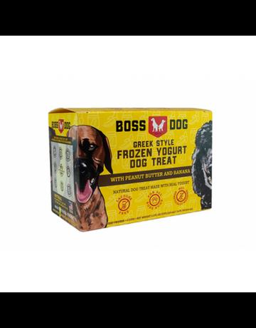 Boss Dog Boss Dog yogourt banane et beurre d'arachide 4x3.5oz