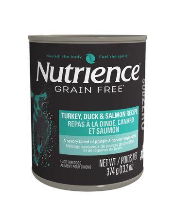 Nutrience Nutrience conserve pour chiens, dinde, canard et saumon 374g (12) ====