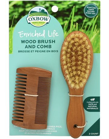 Oxbow Oxbow brosse et peigne en bois