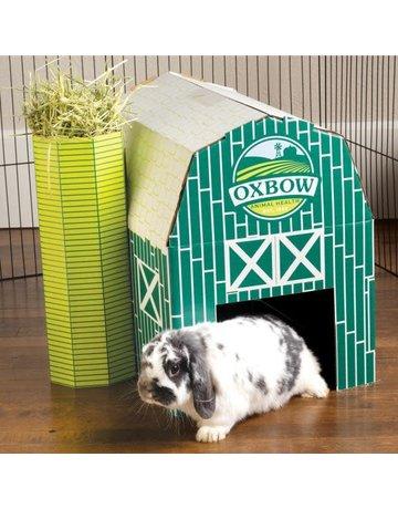 Oxbow Oxbow ferme de foin carton pour lapin