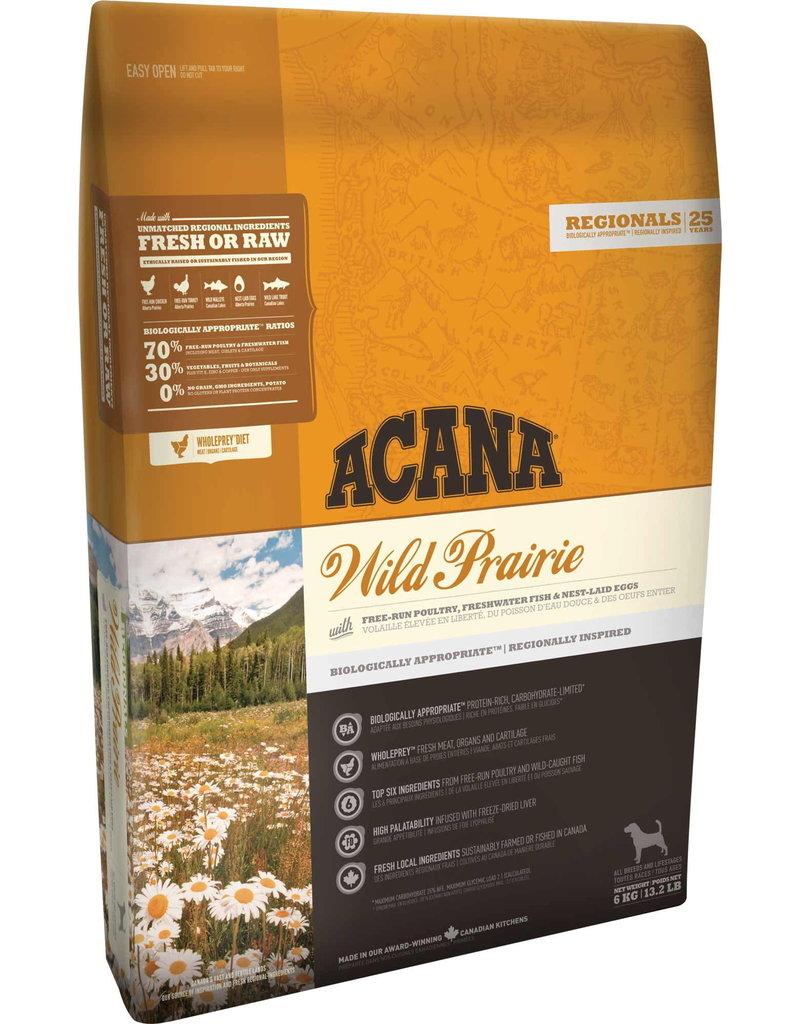 Acana Acana chien wild prairies 6kg -