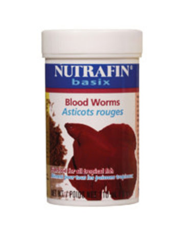 Nutrafin Nutrafin basix asticots rouges lyophilisés 9 g -