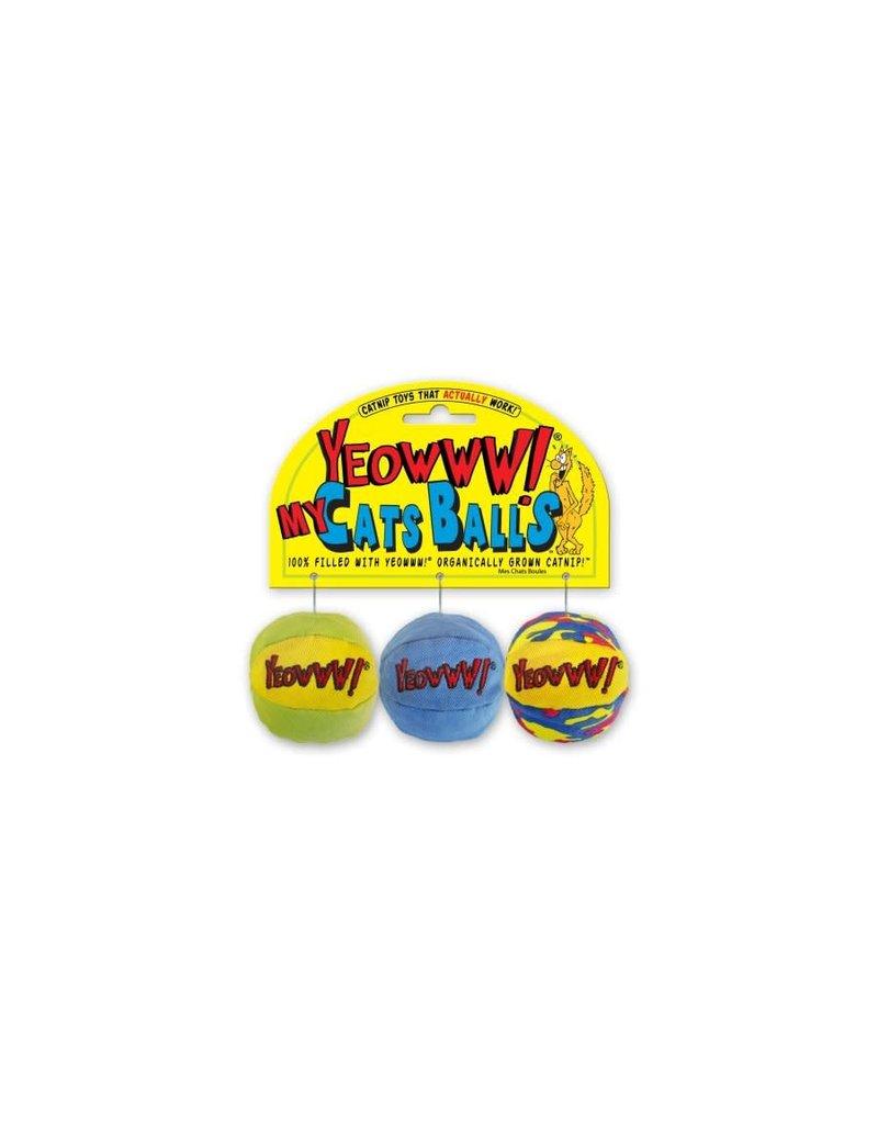 Ducky world Ducky world jouet herbe à chat balle couleurs assortie  (3)