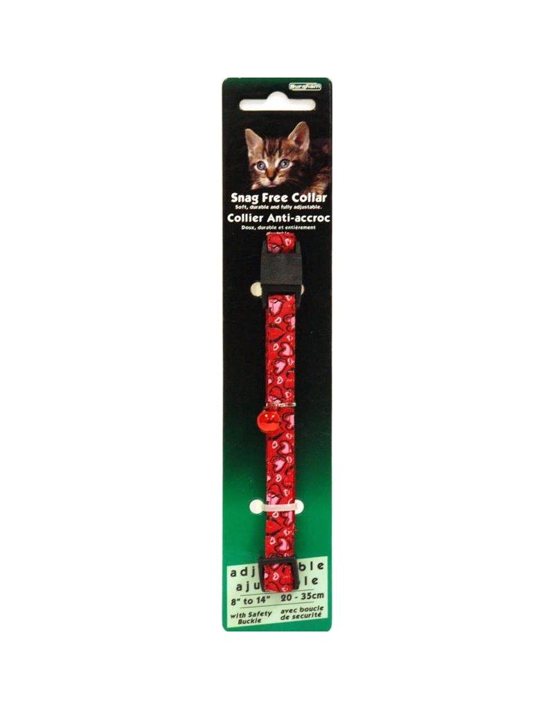 Burgham Burgham collier anti-accroc cœur rouge //