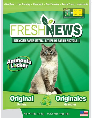 Fresh news Fresh news litière de papier recyclé 4lb
