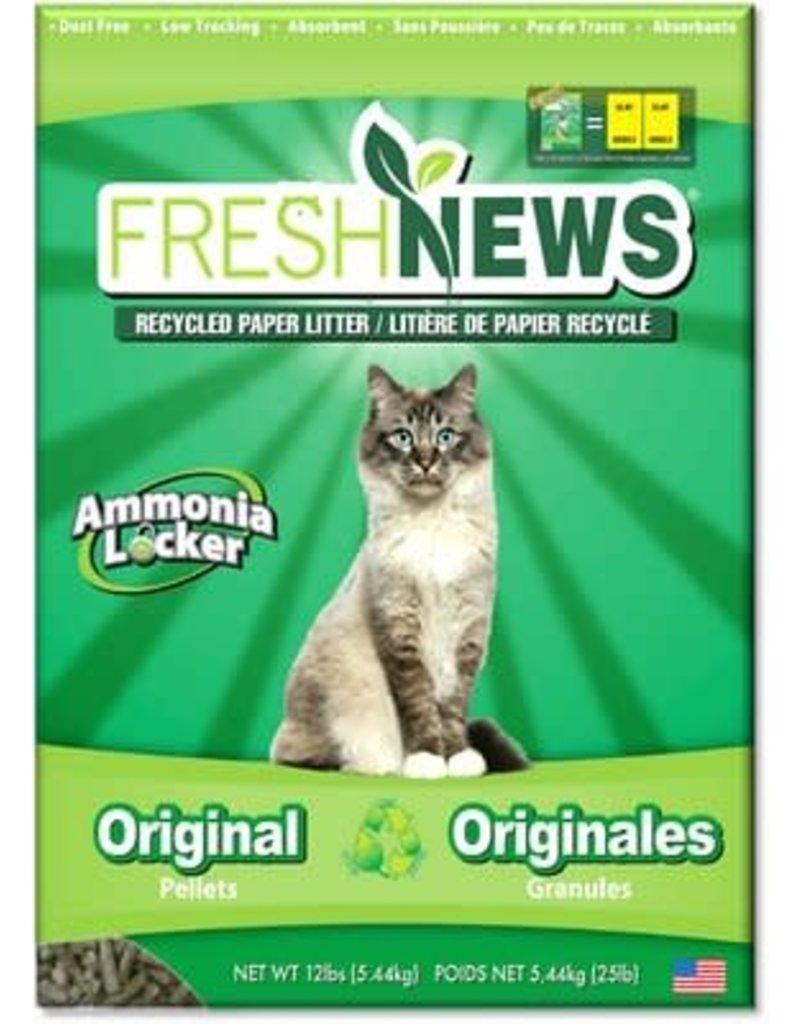 Fresh news Fresh news litière de papier recyclé 12lb