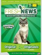 Fresh news Fresh news litière de papier recyclé 25lb