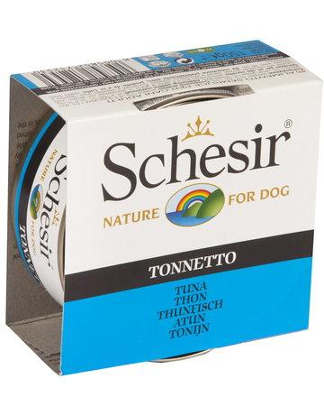 Schesir Schesir chien thon 150g (10) *