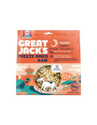 Canadian Jerky Canadian Jerky Great Jack's saumon lyophilisé pour chiens 7oz