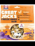 Canadian Jerky Canadian Jerky Great Jack's poulet lyophilisé pour chiens 7oz