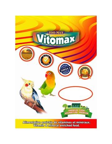 zoo max Zoomax Vitomax cockatiel/insérapable 2lb  --