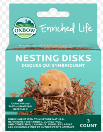 Oxbow disques petits rongeurs qui s'imbriquent