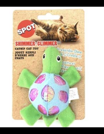 Spot Spot jouet rempli d'herbe aux chats tortue//