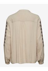 CREAM 10605214 BLOUSE