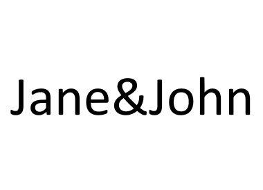 JANE&JOHN
