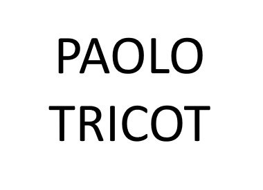 PAOLO TRICOT