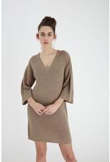 ICHI 20112538 BEIGE DRESS