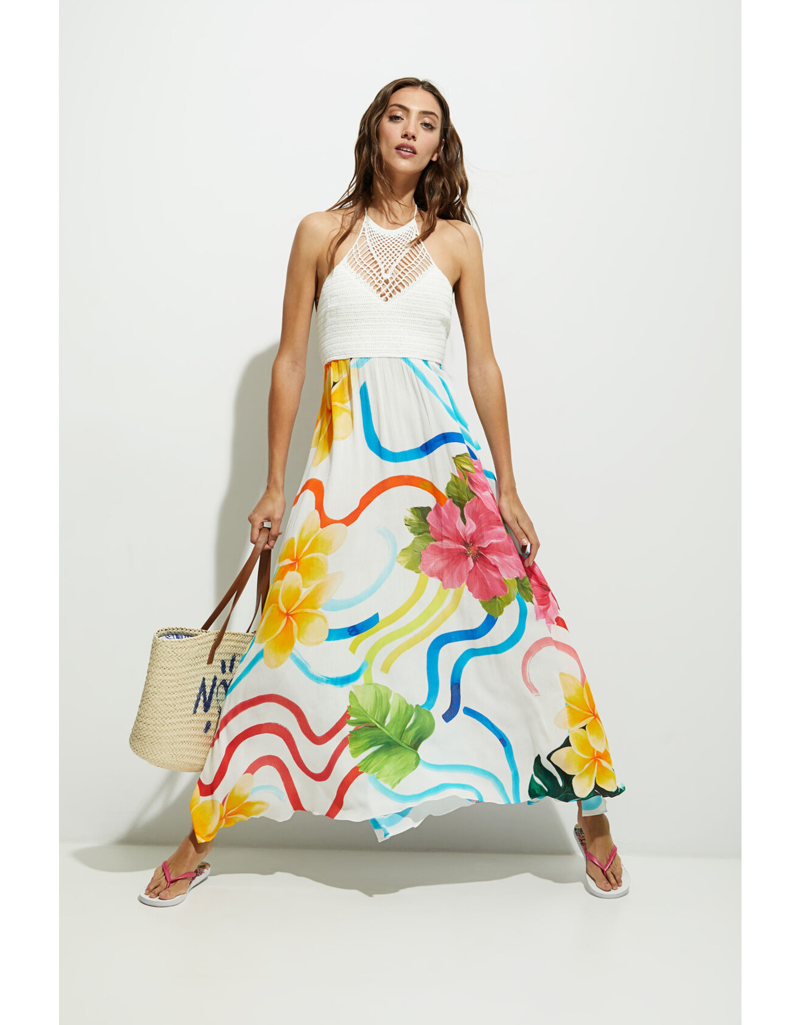 DESIGUAL 21SWMW35 DRESS