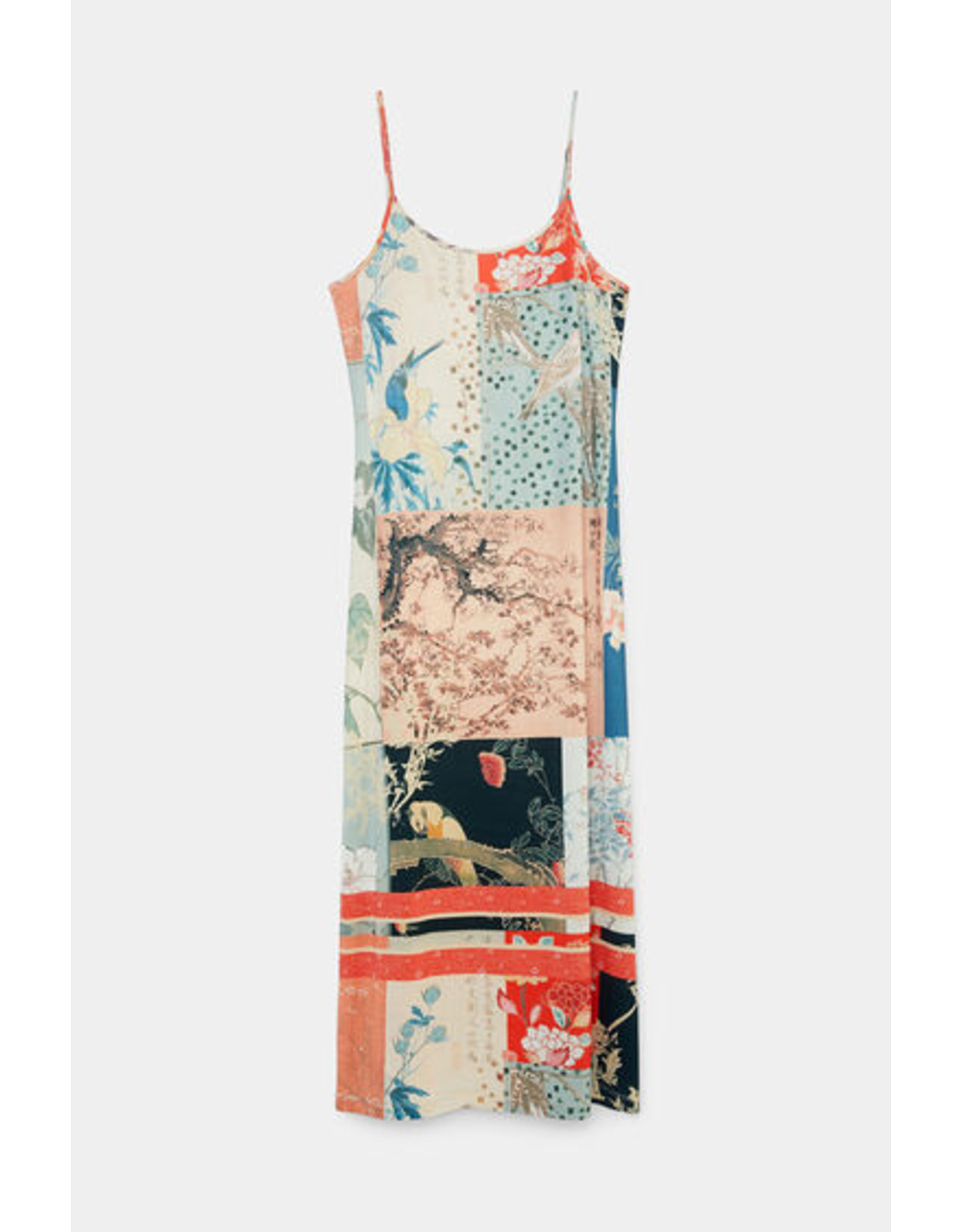 DESIGUAL 21WWVK63 LONG DRESS