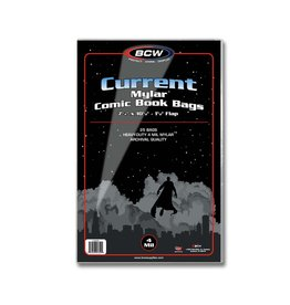 BCW Supplies Current/Modern Comic Mylar Archivals - 4 MIL 25pk