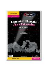 BCW Supplies Golden Comic Mylar Archivals - 2 MIL 50pk