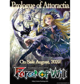 Force of Will Force Of Will CCG: Booster Alice Origin Prologue Of Attoractia Booster Pack