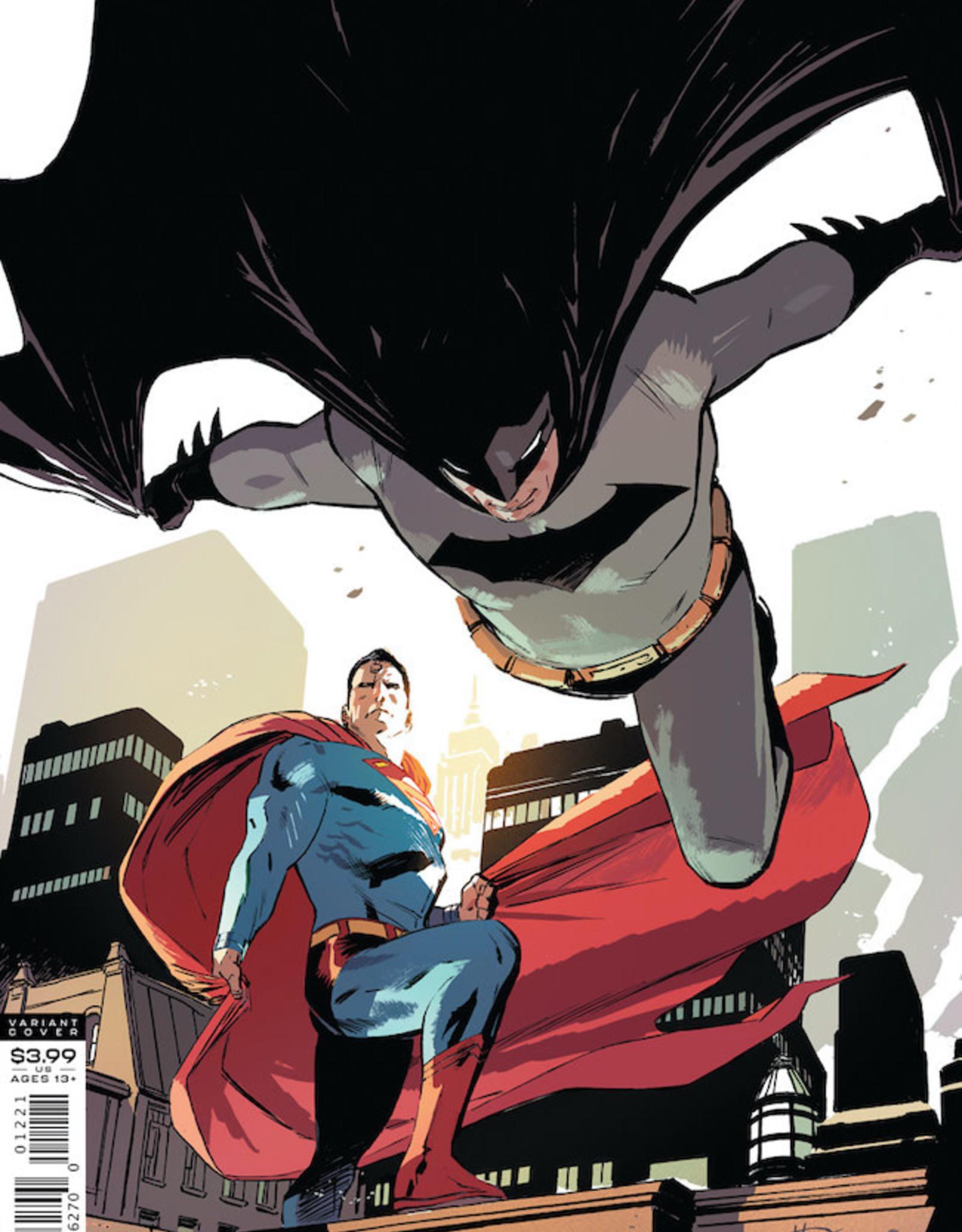 DC Comics Batman Superman #12 Cvr B Lee Weeks Var