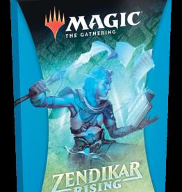 Wizards of the Coast Magic the Gathering: Zendikar Rising Theme Booster Blue