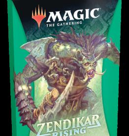 Wizards of the Coast Magic the Gathering: Zendikar Rising Theme Booster Green