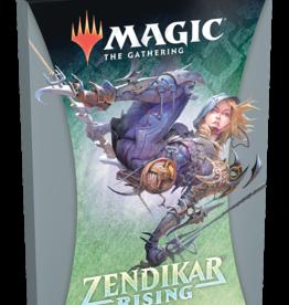 Wizards of the Coast Magic the Gathering: Zendikar Rising Theme Booster Black