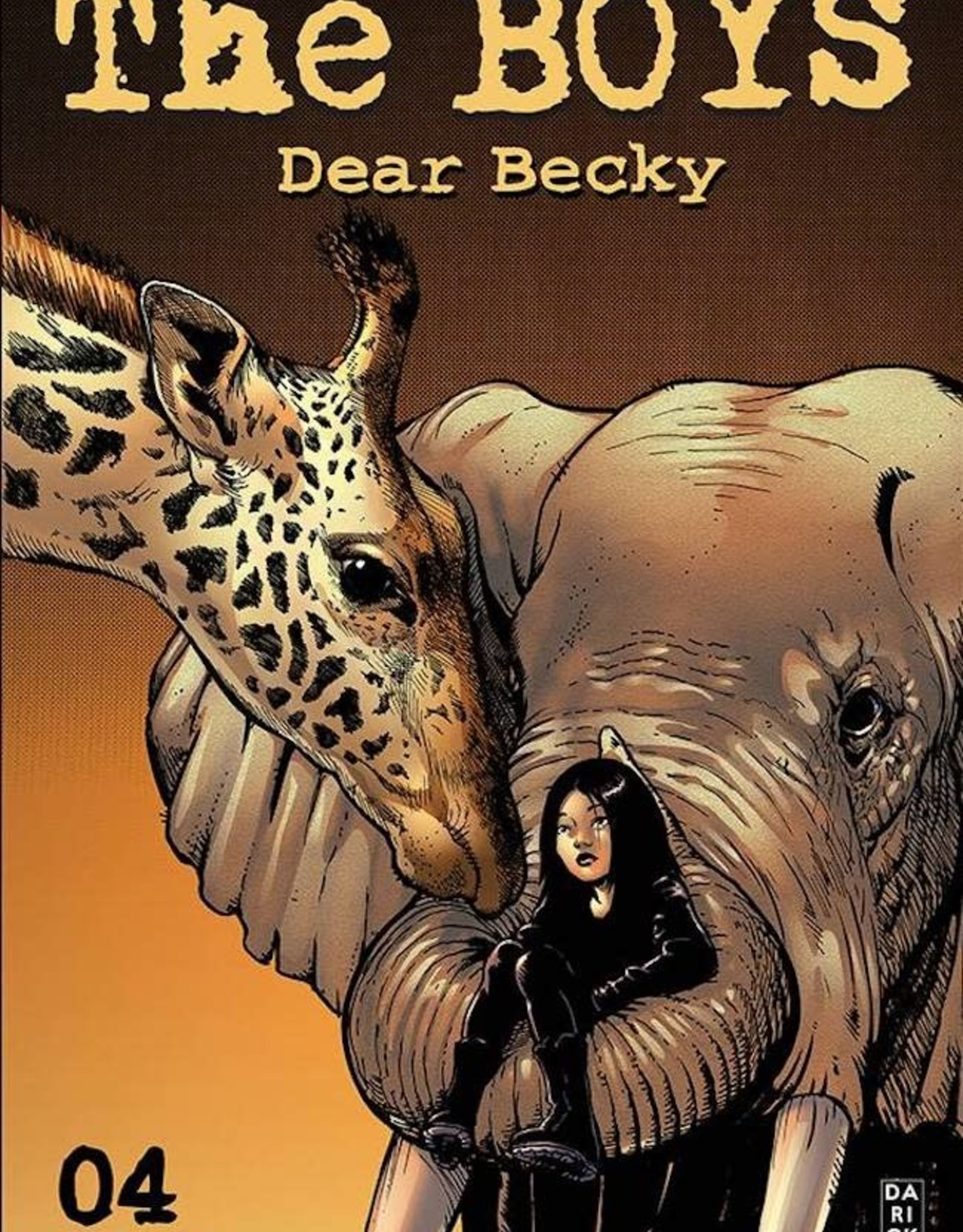 Dynamite Boys Dear Becky #5