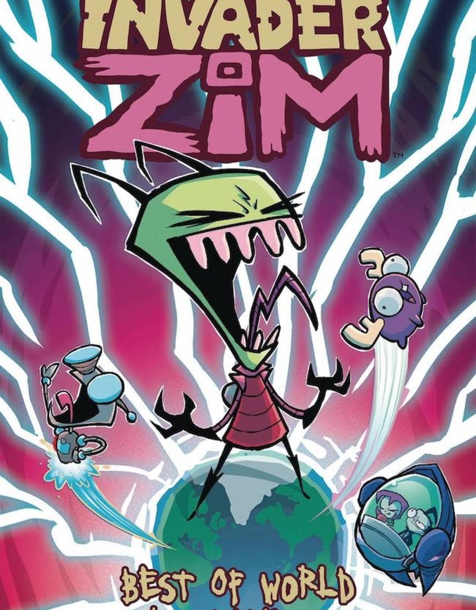 Oni Press Invader Zim Best Of World Domination TP
