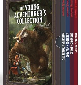 Ten Speed Press Young Adventures Collection D&D 4 Book Set
