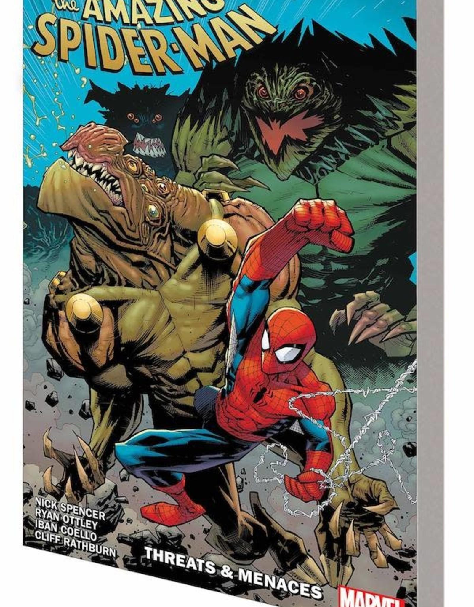 Marvel Comics Amazing Spider-Man By Nick Spencer Vol 08 Threats & Menaces TP