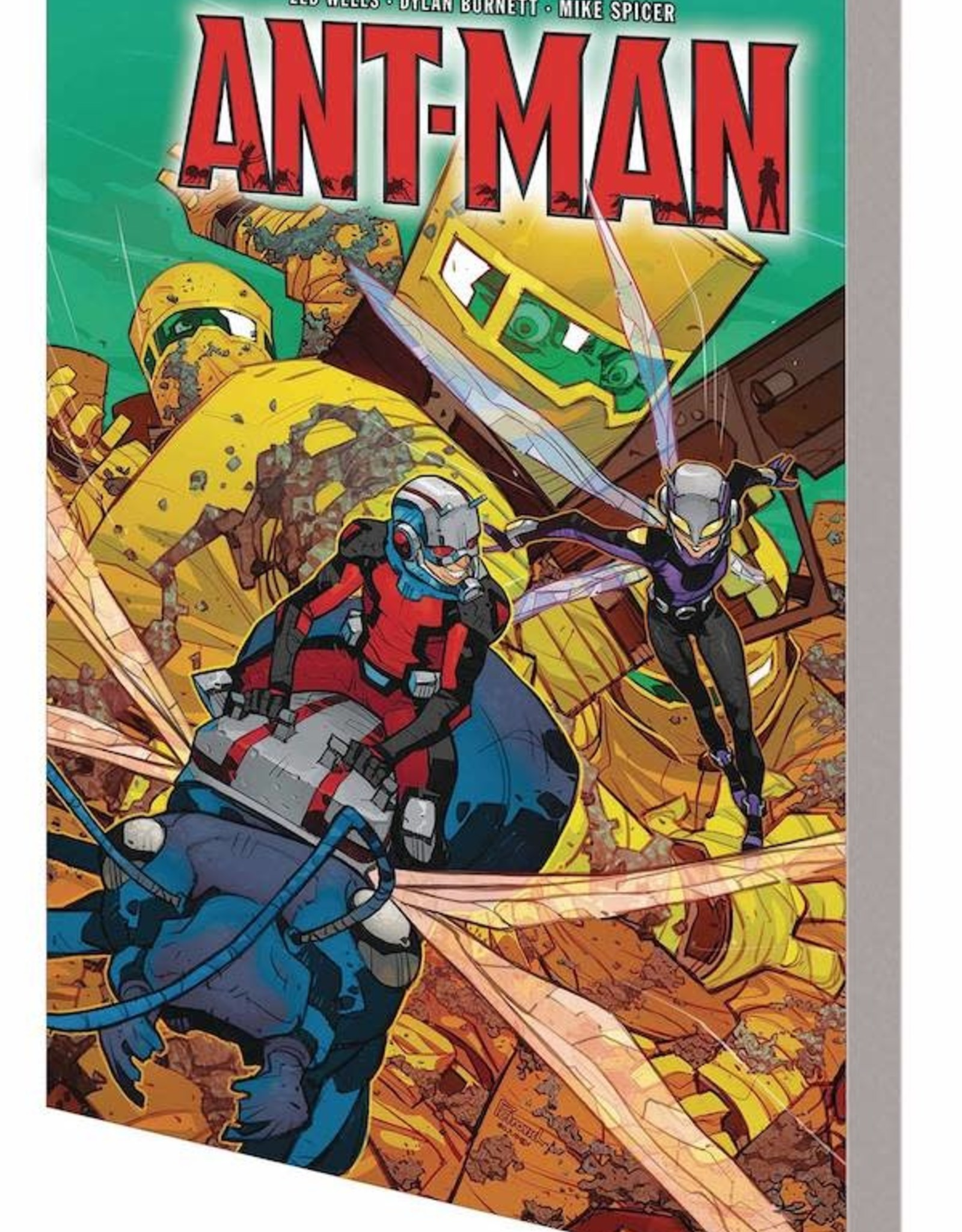 Marvel Comics Ant-Man World Hive TP