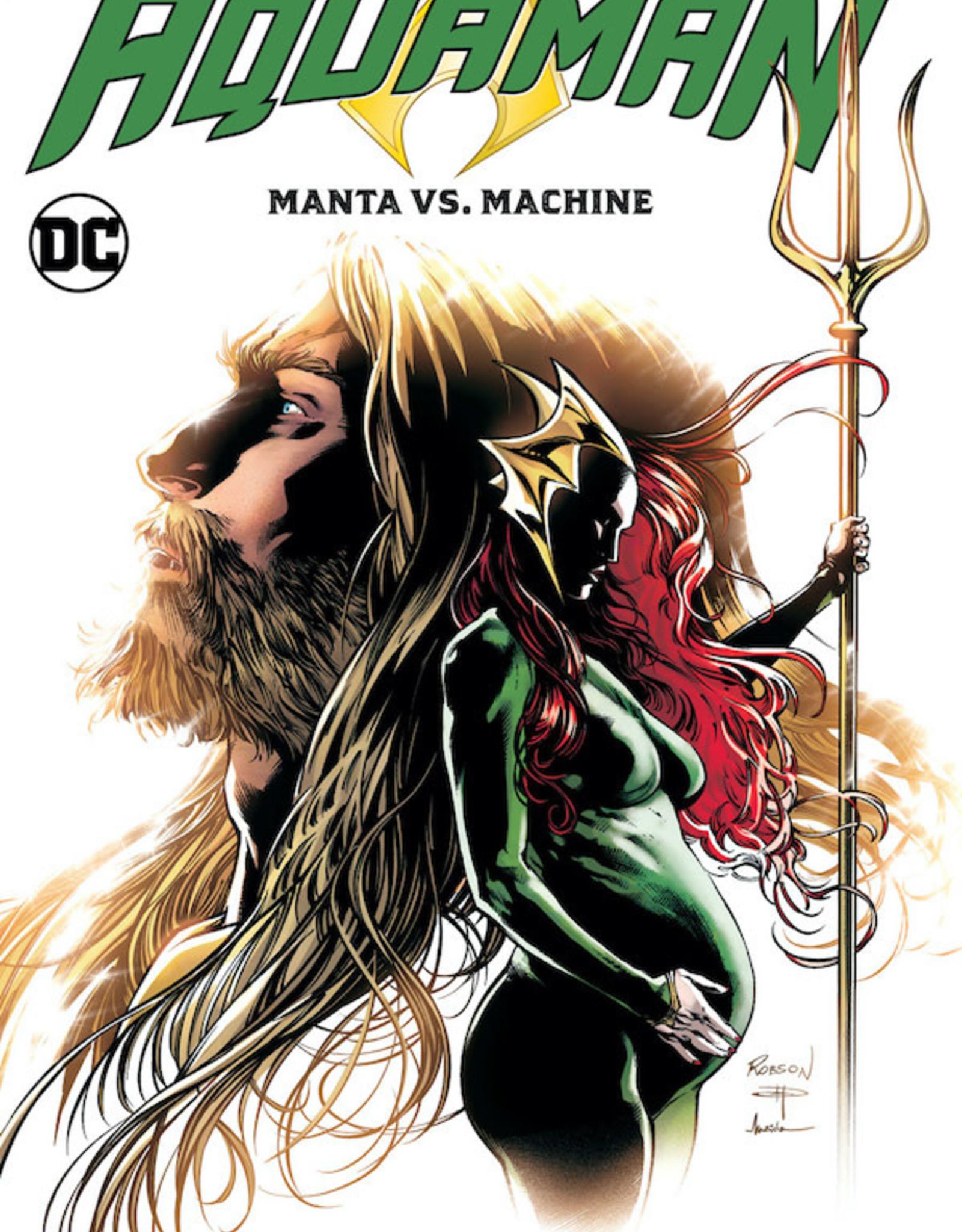 DC Comics Aquaman Vol 03 Manta Vs Machine
