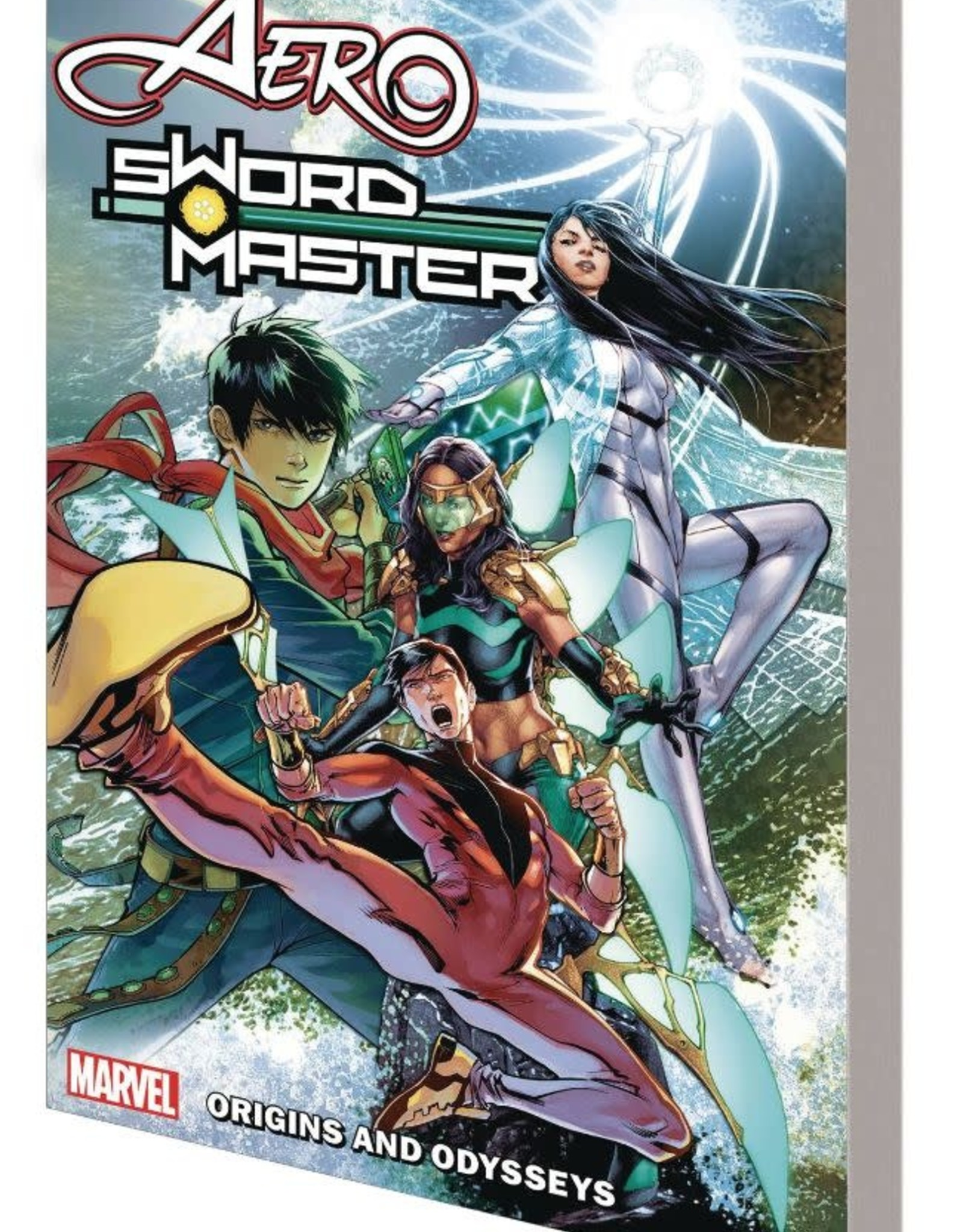 Marvel Comics Aero and Sword Master: Origins And Odysseys TP