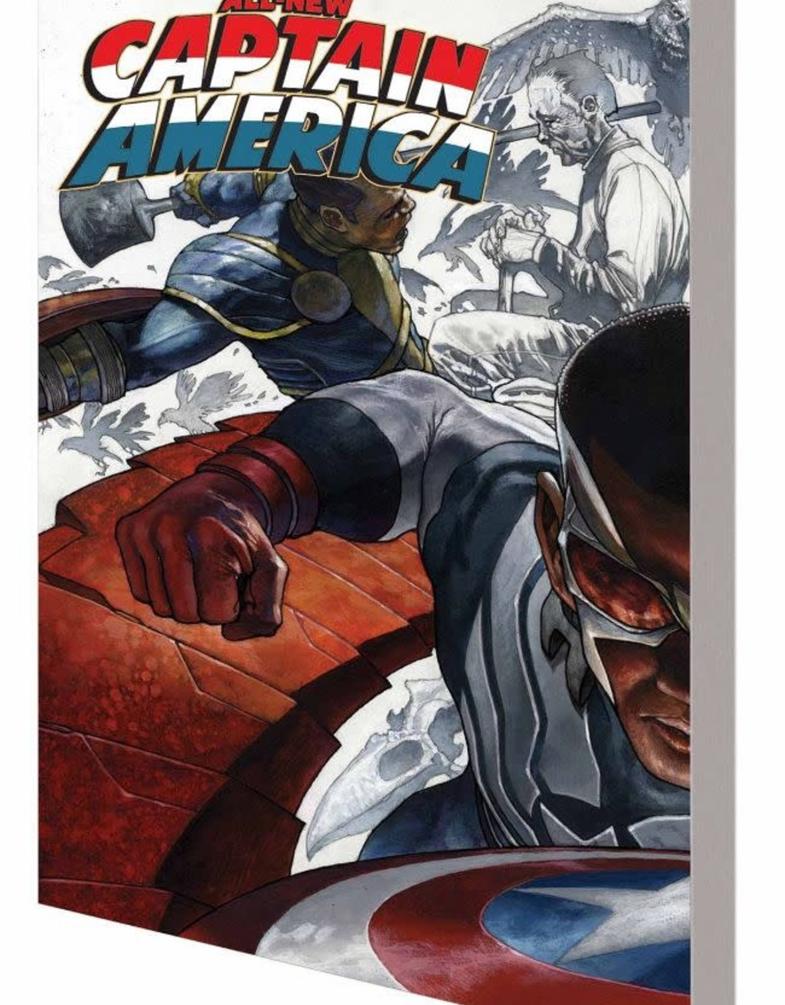Marvel Comics All-New Captain America Fear Him